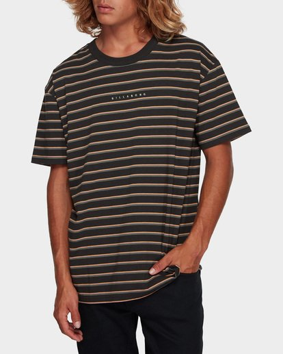 1 Indie Stripe Tee Black 9591016 Billabong