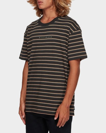 2 Indie Stripe Tee Black 9591016 Billabong
