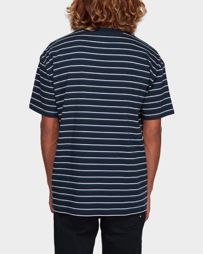 3 INDIE STRIPE TEE Blue 9591016 Billabong