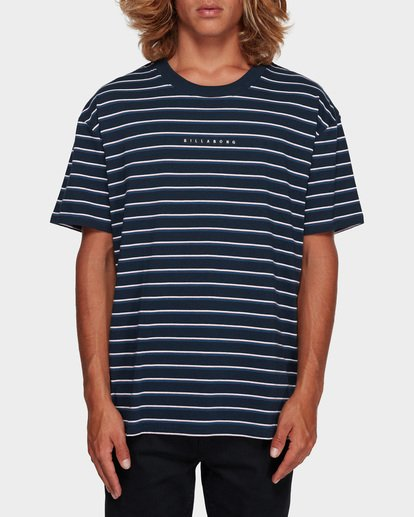 0 INDIE STRIPE TEE Blue 9591016 Billabong