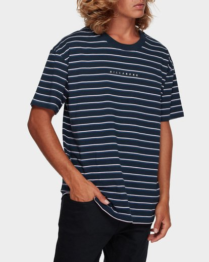 1 INDIE STRIPE TEE Blue 9591016 Billabong