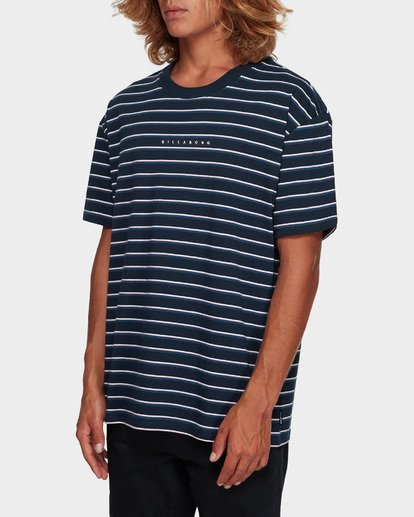 2 INDIE STRIPE TEE Blue 9591016 Billabong