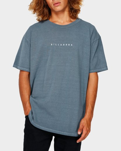 1 ROUGH CUT TEE Blue 9591017 Billabong