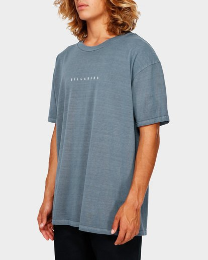 2 ROUGH CUT TEE Blue 9591017 Billabong