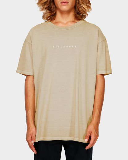 1 ROUGH CUT TEE Green 9591017 Billabong