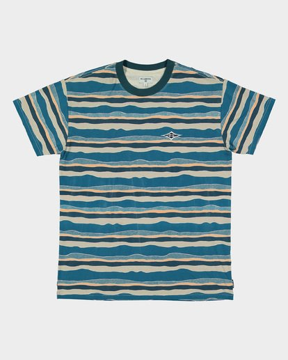 4 TEAR STRIPE TEE Blue 9591018 Billabong