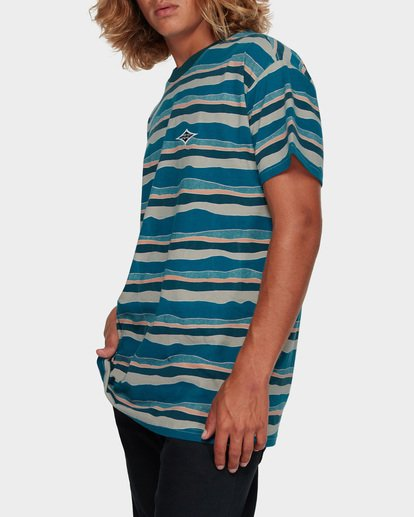 1 TEAR STRIPE TEE Blue 9591018 Billabong