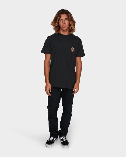 6 TRIFECTA TEE Black 9591021 Billabong