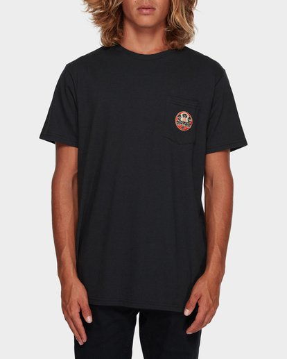 1 TRIFECTA TEE Black 9591021 Billabong
