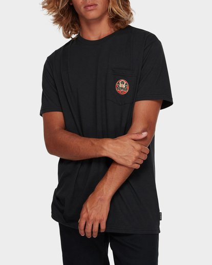 0 TRIFECTA TEE Black 9591021 Billabong