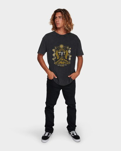 5 PSILOCYBIN TEE Black 9591024 Billabong