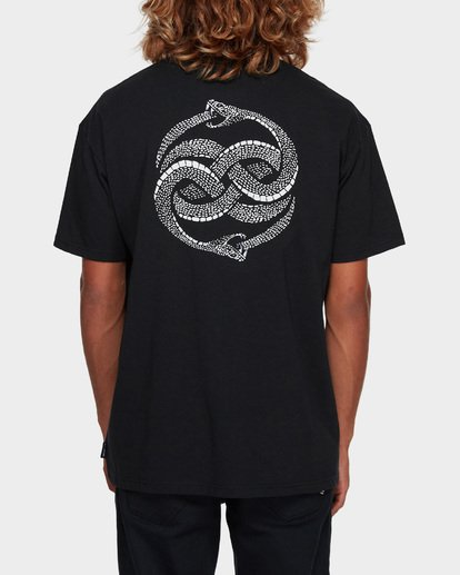 3 Serpent Of Chaos Tee Black 9591025 Billabong