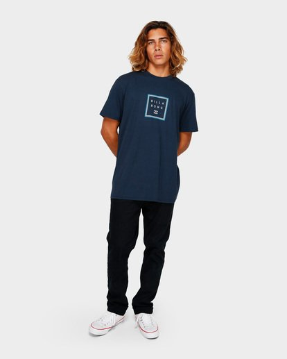 5 STACKER TEE Blue 9591030 Billabong
