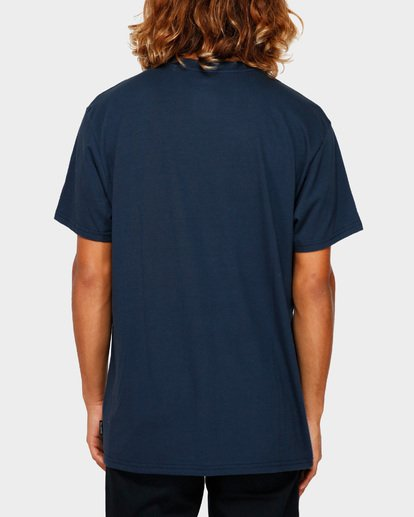 3 STACKER TEE Blue 9591030 Billabong
