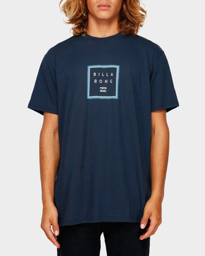 1 STACKER TEE Blue 9591030 Billabong