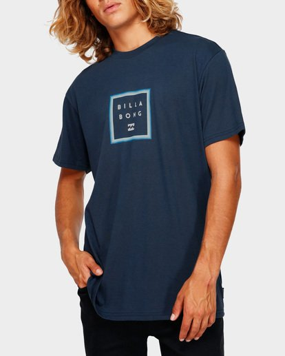 0 STACKER TEE Blue 9591030 Billabong