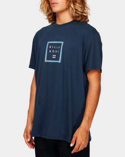 2 STACKER TEE Blue 9591030 Billabong
