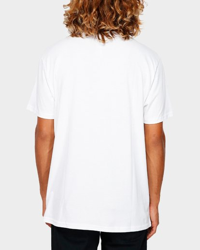 3 Stacker Tee White 9591030 Billabong