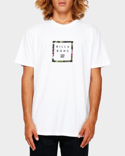 0 Stacker Tee White 9591030 Billabong