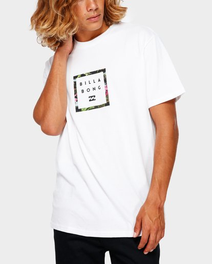 1 Stacker Tee White 9591030 Billabong