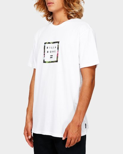 2 Stacker Tee White 9591030 Billabong