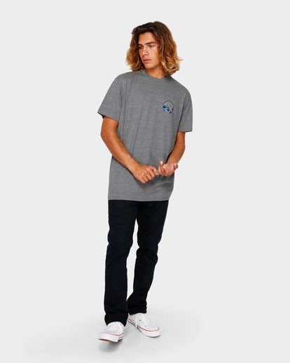 6 ROTOR TEE Grey 9591031 Billabong