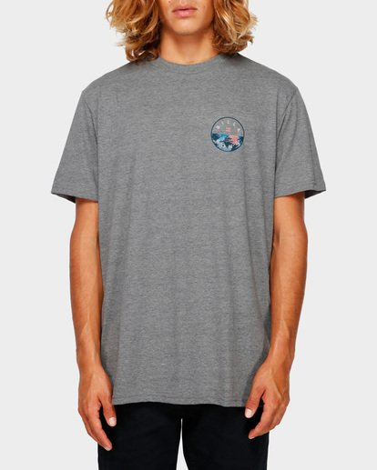 1 ROTOR TEE Grey 9591031 Billabong