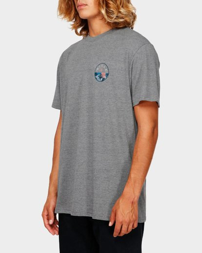 2 ROTOR TEE Grey 9591031 Billabong