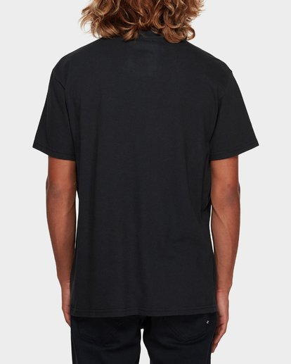 3 LINE UP TEE Black 9591043 Billabong