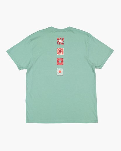 5 DAWN PATROL TEE Green 9591044 Billabong