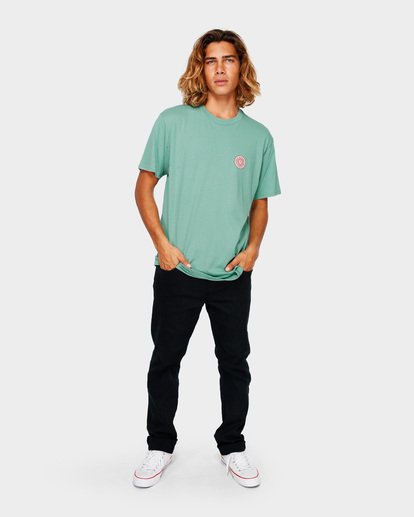 6 DAWN PATROL TEE Green 9591044 Billabong