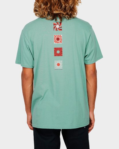 3 DAWN PATROL TEE Green 9591044 Billabong