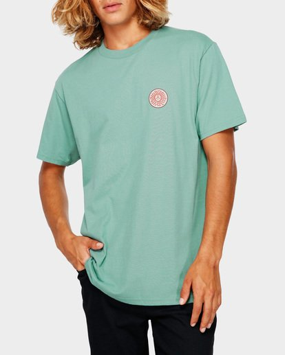 1 Dawn Patrol Tee Green 9591044 Billabong