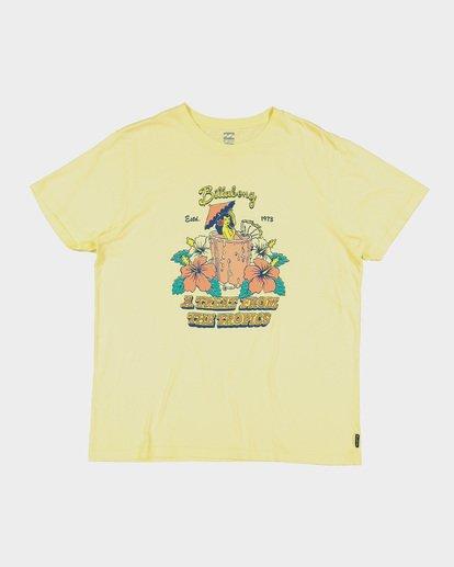 4 MAITAI TEE Yellow 9591046 Billabong
