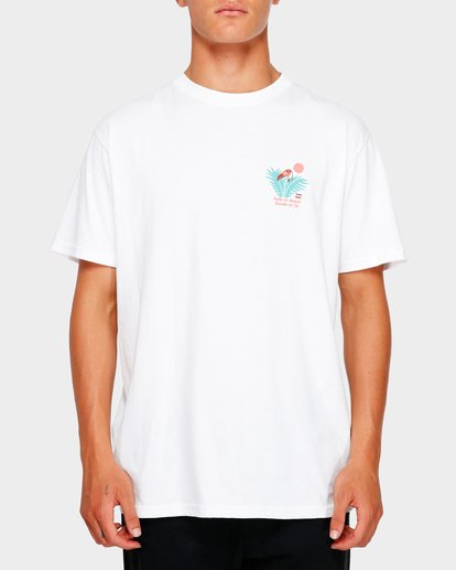0 Salud Tee White 9591048 Billabong