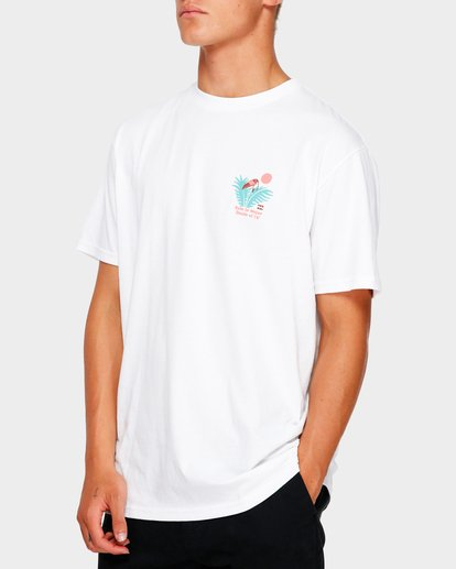 1 Salud Tee White 9591048 Billabong