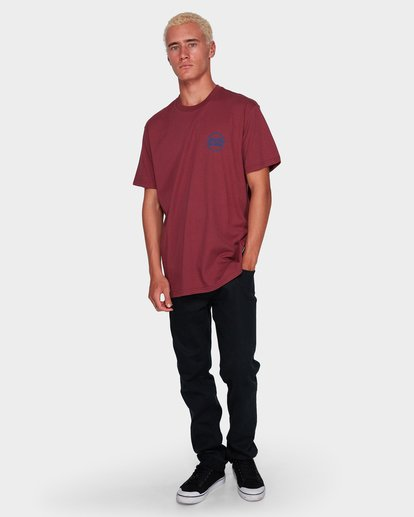 4 CRUISE 86 TEE Red 9591052 Billabong