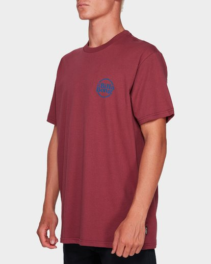 1 CRUISE 86 TEE Red 9591052 Billabong
