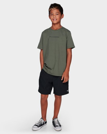 5 SMITTY TEE Green 9591053 Billabong