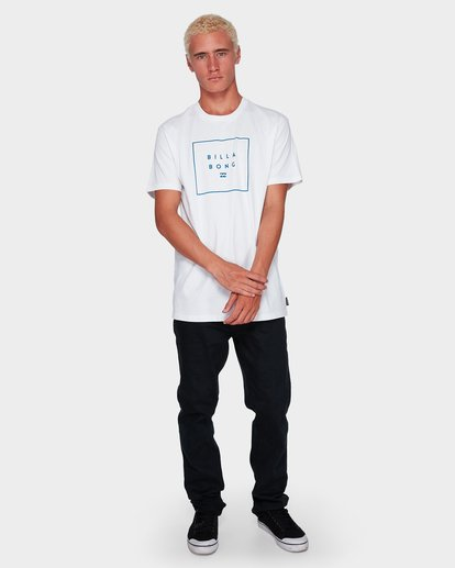4 Stack It Tee White 9591054 Billabong