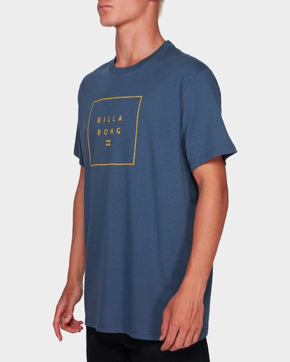1 STACK IT TEE Grey 9591054 Billabong