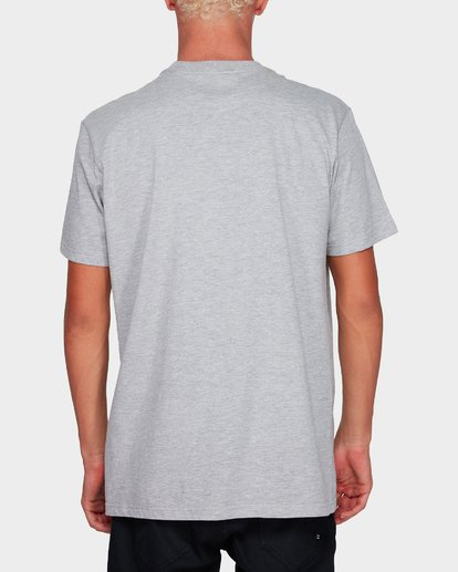 2 Stack It Tee Grey 9591054 Billabong