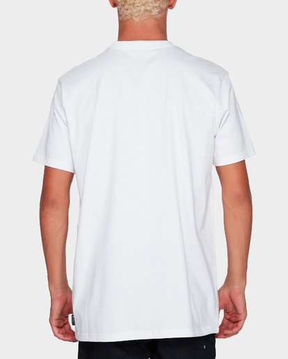2 Stack It Tee White 9591054 Billabong