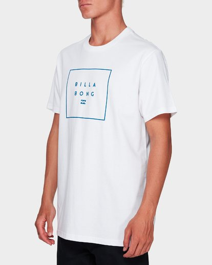 1 Stack It Tee White 9591054 Billabong