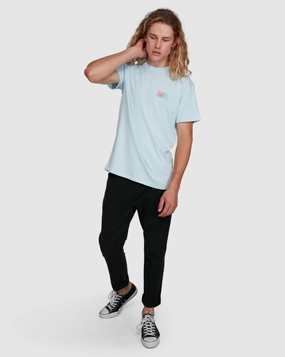 8 Boundry Tee Blue 9591057X Billabong