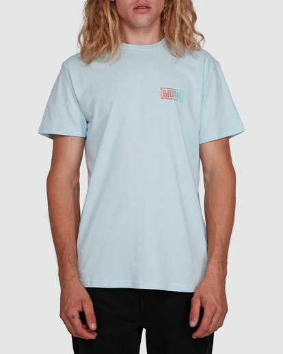 0 Boundry Tee Blue 9591057X Billabong