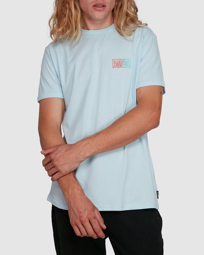 1 Boundry Tee Blue 9591057X Billabong