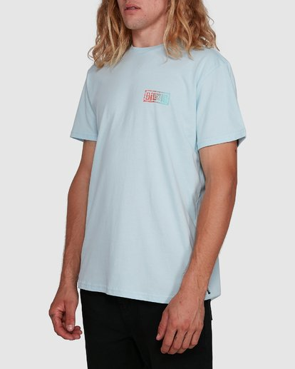 2 Boundry Tee Blue 9591057X Billabong