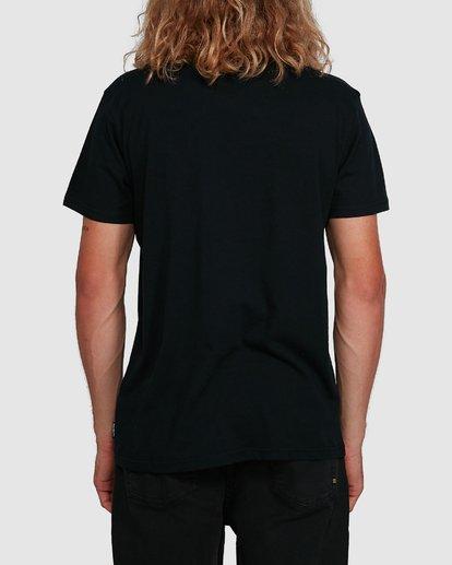 3 Aus Outlined Short Sleeve Tee Black 9591071M Billabong