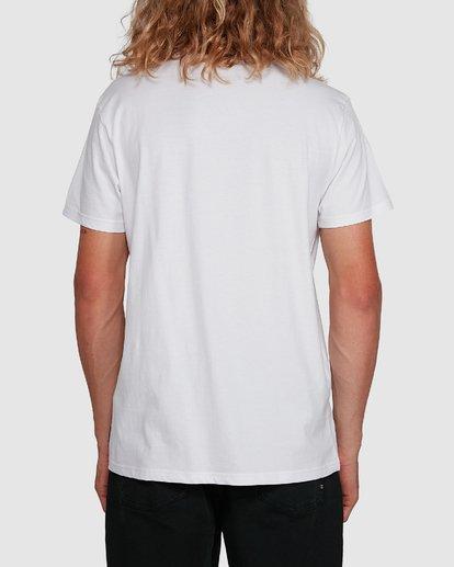 3 Aus Outlined Short Sleeve Tee White 9591071M Billabong